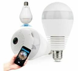Lâmpada Câmera IP Vr Cam Wi-Fi 360° V380-v9-2