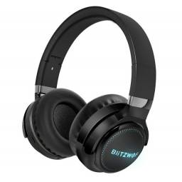 Título do anúncio: Fone Bluetooth Headphone Blitzwolf HP0 PRO - Novo Pronta Entrega