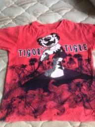 blusas da Tigor t. tigre pouco usadas