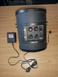 Amplificador Portatil Fender(raro) - Giutarra/Violao + voz.