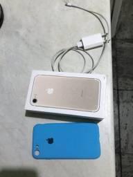Título do anúncio: iPhone 7  com Caixa