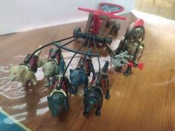 Título do anúncio: Playmobil Medievais.