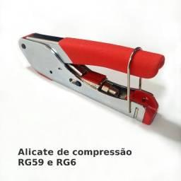 Título do anúncio: Alicate de compressão RG59 e RG6