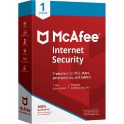 Chave Licença Original McAfee Internet Security 2021 *Ativação Online