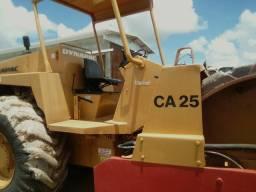 Rolo Compactador Ca25 ano 85 todo reformado,pronto pra trabalhar