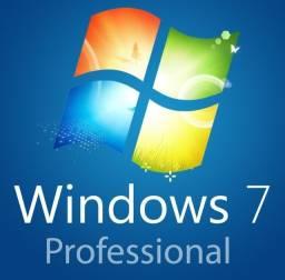 Chave Windows 7 Professional Licença serial Serial Original