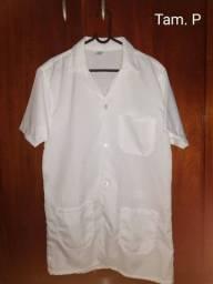 Jaleco + Camisa Branca