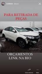 Título do anúncio: *SUCATA* Honda HRV retirada de peças