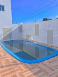 Apartamento com 2 dormitórios à venda, 56 m² por R$ 190.836,75 - Água Fria - João Pessoa/P