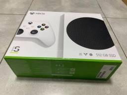 Xbox séries S 512gb ssd novo lacrado