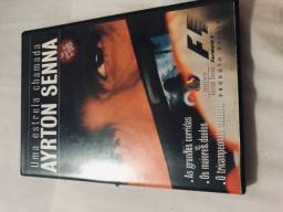 Dvds Ayrton Senna - O MAIOR DE TODOS OS TEMPOS