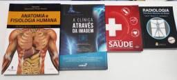 Livros de anatomia e fisiologia, radiologia