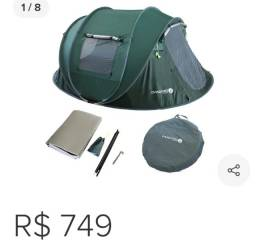 Barraca para acampar.