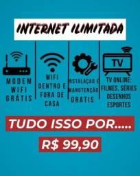 Internet Fibra Na Promoçao Para os 20 Primeiros