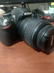 Camera Nikon D3200 18-55mm (nada de trocas)