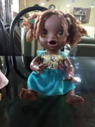 Boneca Baby Alive Negra Hora de Comer