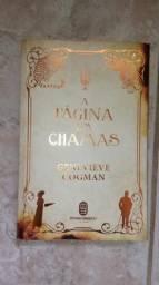 Livro A Página em Chamas de Genevieve Cogman