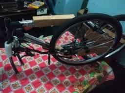 Bicicleta houston foxer hammer aro 26, 21 marchas freio V-break