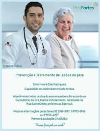 Tratamento de lesões de pele (úlceras varicosas)