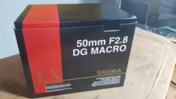 Lente Sigma 50mm F2.8 Dg Macro P/ canon Autofoco