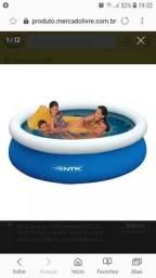 Vendo piscina inflável
