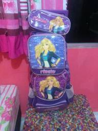 Conjunto de mochila infantil