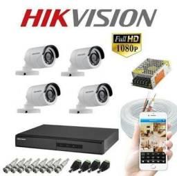 Kit cameras instalado