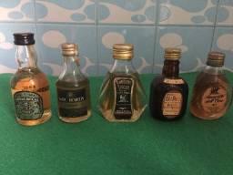 Mini Garrafas de Whisky para Coleção