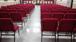 Cadeiras para igreja e auditório