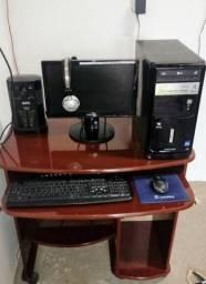 Computador dual core 4Gb HD 500