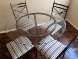 Barbada! Mesa e 4 Cadeiras
