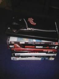 Lote de 8 dvds 6 musicais e 2 séries