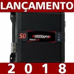 Modulo Soundigital Sd3000.1d 2ohms Evo 2 3918w 2018