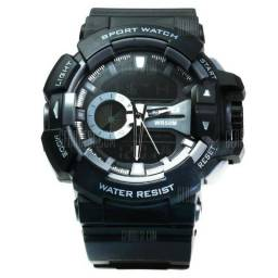 Relógio Skmei 1117 Dual Time Esportivo Barato Masculino