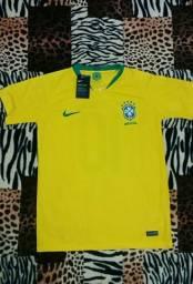 Camisa da Seleção Brasileira Oficial ( Personalizada)