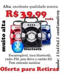 Caixa Bluetooth com radio