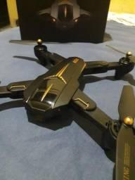 Drone Visuo Xs812 Gps Câmera 5mp Com 3 Baterias