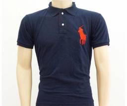 Camisa Masculina Polo Ralph Lauren Marinho