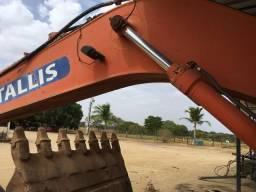 Vende se escavadeira com motor cumins turbinado - 2009