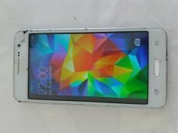 Samsung Gran Prime tela quebrada