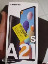 Samsung a21s novo lacrado *