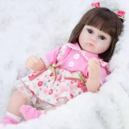 Bebê Boneca Reborn 42cm