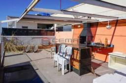 Cobertura à venda com 3 dormitórios em Glória, Rio de janeiro cod:LACO30293
