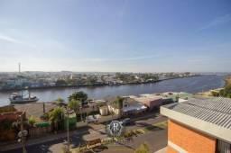 Vista para o mar, serra e rio em Torres