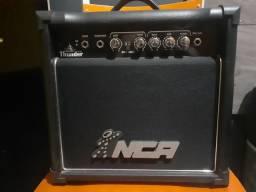 Caixa musical, amplificada NCA. (cubo para guitarras)
