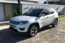 Jeep Compass Limited 17/17 24 mil km interior Bege - 2017