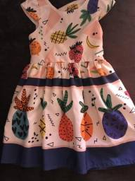 Vestido mon sucre infantil TAM 02 anos