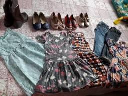 Roupas e calçados feminino infantil