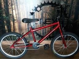Bicicleta Infantil Aro 20 Vermelha Ultra