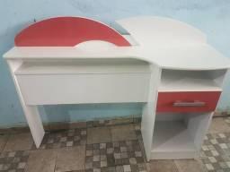 Cabeceira Cama Box Solteiro, Com Gaveta.